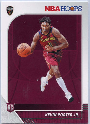 2019-20 NBA HOOPS Basketball Kevin Porter Jr Rookie Card #225