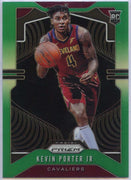 Kevin Porter Jr green Rookie card prizm 2019-20 Panini Prizm Basketball