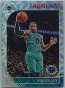 2019-20 NBA Hoops Premium Stock Miles Bridges Silver Scope Prizm Card #20