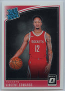 2018-19 Donruss Optic Basketball Vincent Edwards RATED ROOKIE Card #165