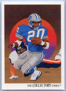 1991 Upper Deck Barry Sanders The Collectors Choice Card #89 Detroit Lions