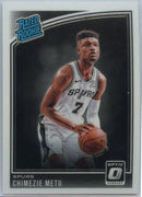 2018-19 Donruss Optic Basketball Chimezie Metu RATED ROOKIE Card #195