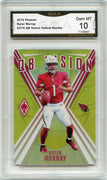 53/75 2019 Phoenix Kyler Murray QB Vision Yellow Rookie Card #1 graded 10 by GMA