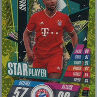 2020-21 Topps Attax Soccer Serge Gnabry STAR PLAYER Card #SP10