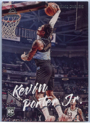 2019-20 Chronicles Luminance Basketball Kevin Porter Jr Rookie Card #148