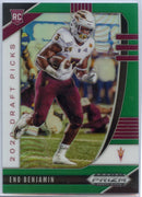 Eno Benjamin Green Prizm Rookie Card #119 2020 Prizm Draft Picks Arizona State RB