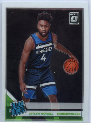 2019-20 Donruss Optic Basketball Jaylen Nowell RATED ROOKIE Card #155 T-Wolves