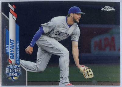 2020 Topps Chrome Update Kris Bryant All-Star Game card U-62