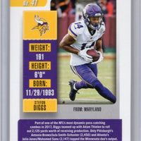 2018 Contenders #41 Stefon Diggs football card