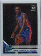 2019-20 Donruss Optic Basketball Sekou Doumbouya RATED ROOKIE number 164 card Pistons