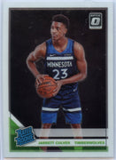 2019-20 Donruss Optic Basketball Jarrett Culver RATED ROOKIE Card #160 Timberwolves