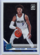 2019-20 Donruss Optic Basketball Isaiah Roby RATED ROOKIE Card #191