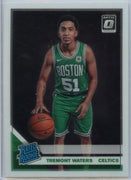 2019-20 Donruss Optic Basketball Tremont Waters RATED ROOKIE Card #185 Boston Celtics guard