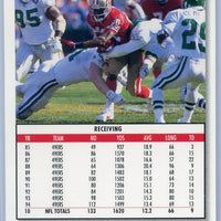 1995 Upper Deck Football COLLECTOR'S CHOICE Jerry Rice card number 78 49ers wide receiver