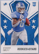 2020 Rookie & Stars D'Andre Swift Rookie Card #111 Lions running back