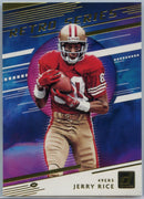 2020 Donruss Football RETRO SERIES Jerry Rice card #RS-JS San Francisco 49ers