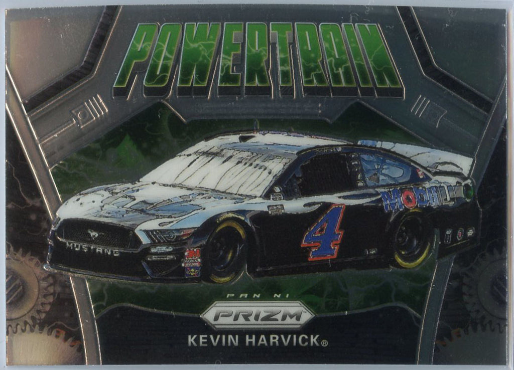2020 Prizm Racing POWERTRAIN Kevin Harvick Card #81