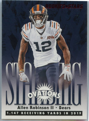 2020 Rookie & Stars Standing Ovations Allen Robinson Card #SO-14 Bears wide receiver