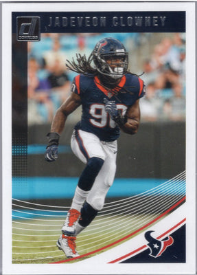 Jadeveon Clowney 2018 Panini Donruss Football #118 card