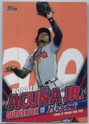 2020 Topps Update Ronald Acuna Jr Take It From The Top TRA-4