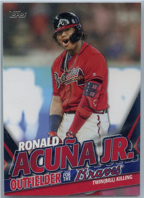 2020 Topps Update Ronald Acuna Jr Twin(Bill) Killing TRA-5