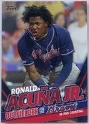 2020 Topps Update Ronald Acuna Jr 50 and Counting TRA-14 Braves