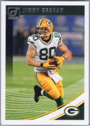 Jimmy Graham 2018 Donruss football card #259