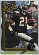 Deion Sanders 1991 Action Packed Card #9 Falcons