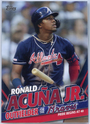 2020 Topps Update Ronald Acuna Jr Pride Begins at 40 TRA-18