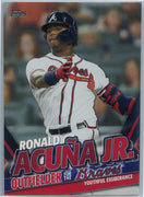 2020 Topps Update Ronald Acuna Jr Youthful Exuberance TRA-2