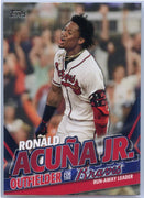 2020 Topps Update Ronald Acuna Jr Run-Away Leader TRA-19