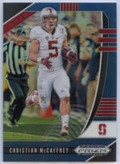 2020 Prizm Draft Picks BLUE PRIZM Christian McCaffrey Card #17 Stanford