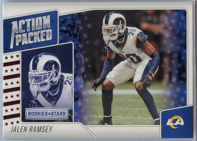2020 Rookie & Stars Action Packed Jalen Ramsey Card #28