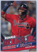 2020 Topps Update Ronald Acuna Jr Signature Slam TRA-10