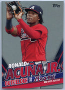 2020 Topps Update Ronald Acuna Jr Red-Hot August TRA-8