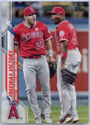 2020 Topps Update Freeway Victory Mike Trout and Justin Upton #U-261