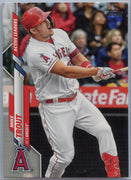 2020 Topps Update Mike Trout Active Leaders Slugging Percentage U-243