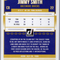 2018 Donruss Football Jimmy Smith #21 Baltimore Ravens card