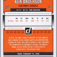 2018 Donruss Football Ken Anderson #57 Bengals card