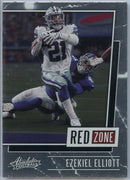 2020 Absolute Football Ezekiel Elliott RED ZONE RZ-EE