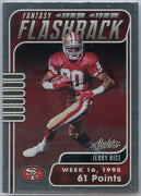 2020 Absolute Football Jerry Rice Fantasy Flashback FF-JR