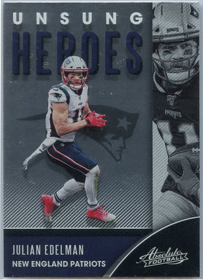 2020 Absolute Football Julian Edelman UNSUNG HEROES UH-JE
