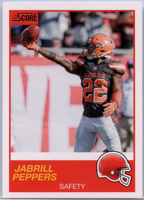 Jabrill Peppers 2019 Score Football #110 card
