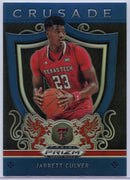 Jarrett Culver Blue Crusade Rookie Card #83 2019 Panini Prizm Draft Picks Texas Tech University