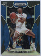 Jarrett Culver rookie card No. 69 Blue Panini Prizm Draft Picks