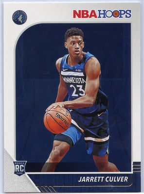 Jarrett Culver NBA HOOPS Rookie Card No. 203 2019-20