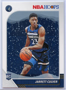 Jarrett Culver rookie card Snowflakes 2019-20 Hoops Basketball No. 203