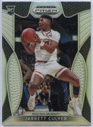 Jarrett Culver Prizm Silver rookie card 2019 Draft Picks #69 Texas Tech