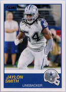 Jaylon Smith 2019 Score Football #170 Dallas Cowboys