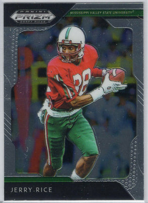 Jerry Rice 2019 Panini Prizm Draft Picks No. 46 card